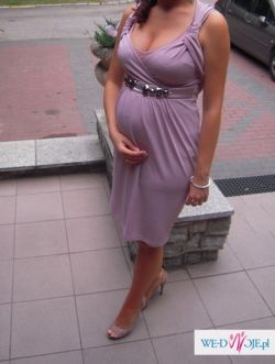 Prześliczna ciążowa sukienka