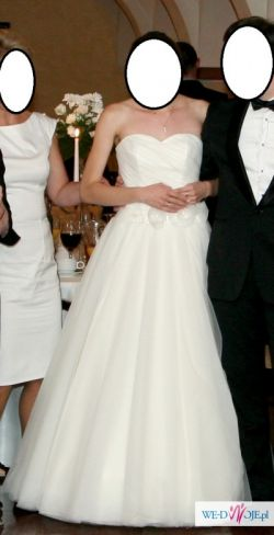 Prześliczna elegancka suknia ślubna