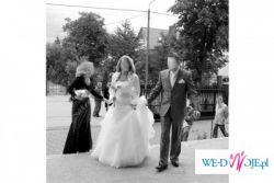 Prześliczna oryginalna suknia ślubna Bizet MAGGIO RAMATTI rozmiar 36 OKAZJA!!