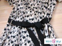 przesliczna prawie nowa sukienka