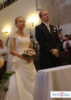 """Prześliczna, subtelna hiszpańska suknia ślubna St.Patrick """"Daga"""""""