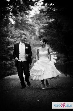 Prześliczna suknia ślubna 36+Gratis!