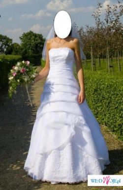 Prześliczna Suknia Ślubna