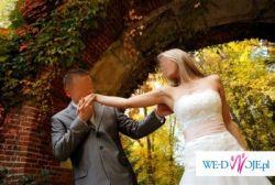 Prześliczna suknia ślubna BIZET jak z bajki