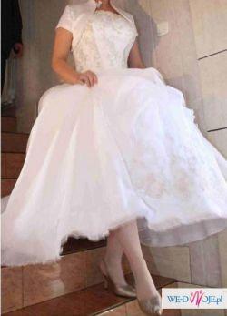 Prześliczna suknia ślubna Fasson