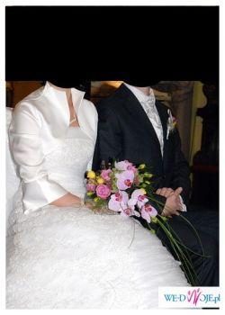 Prześliczna suknia ślubna firmy Classa