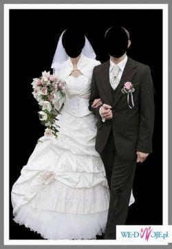 Prześliczna Suknia Ślubna od Madonny