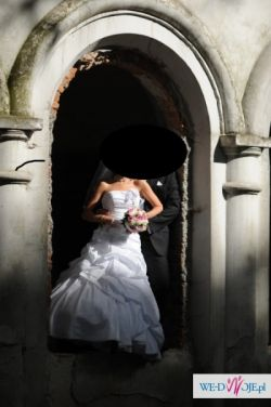 Prześliczna suknia ślubna po okazyjnej cenie