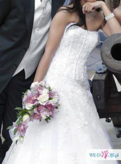 prześliczna suknia ślubna SINCERITY  3459!!!!