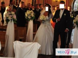 Przesliczna suknia ślubna- WARTA UWAGI