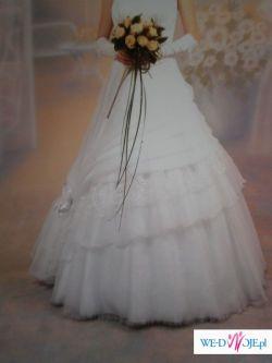 Prześliczna suknia ślubna z warszawskiego salonu Diana