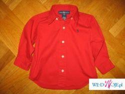 Ralph Lauren 18M śliczna czerwona dla syna USA
