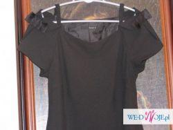 Reserved czarna klasyczna sukienka
