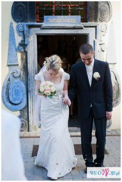 romantyczna koronkowa suknia ślubna  38 Annais Bridal  kristi