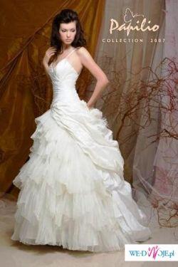 Romantyczna suknia Papilio model 719