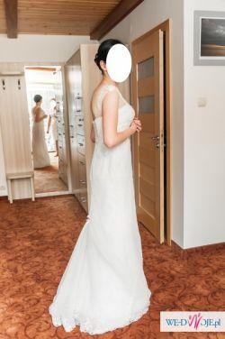 Romantyczna Suknia Ślubna Avenue Diagonal Model Palben