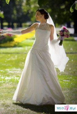 Romantyczna suknia ślubna dla wysokiej (170-185cm)
