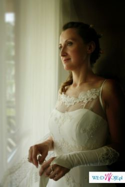 "Romantyczna suknia slubna ""Salerna"" 1600zl,  okazja!!!"