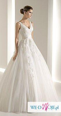 Romantyczna suknia White One 6228 z kolekcji 2011