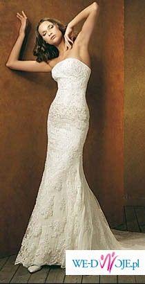 RONDALLA St. Patrick !!! Suknia ślubna 2008!!! Koronkowa rybka!!!!!!!
