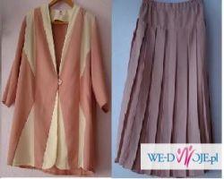 Różowy kostium, rozmiar 44