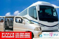 Rozwożenie gości Konin po weselu busy Konin wynajem autokarów ślub Konin