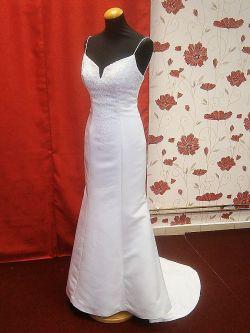 s112 Suknia ślubna US 34-36 koronka