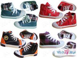 Sandałki, trampki i inne obuwie