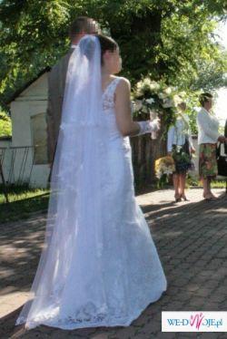 seksowna  koronkowa  suknia slubna 36/38