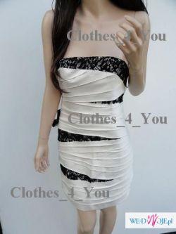 Sexi panelowa sukienka ekskluzywnej marki Bebe