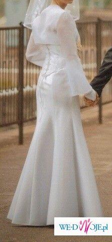 Skromna suknia ślubna 38-40 na 168/170