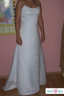 Skromna suknia ślubna