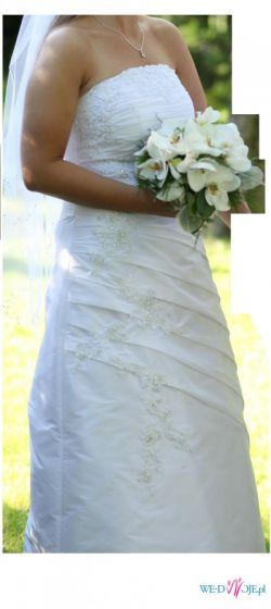 Ślicza suknia ślubna