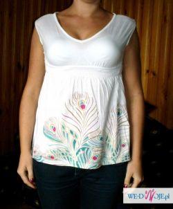 sliczna bluzeczka odcięta pod biustem