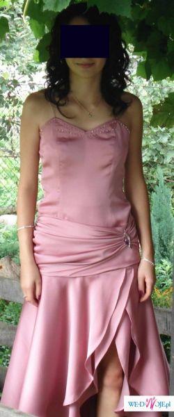 śliczna, fantazyjna suknia
