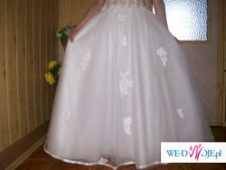 Śliczna i niedroga suknia ślubna!!!