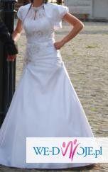 Śliczna i wygodna suknia ślubna 38 za jedyne 400 zł