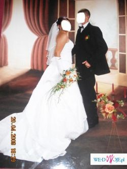 Śliczna,orginalna suknia AGORA z kryształkami !!!!!!