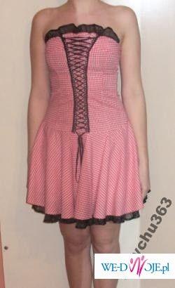 Śliczna sexowna sukienka Orsay