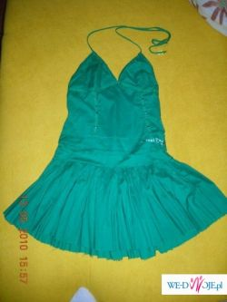 śliczna sukienka letnia HOUSE zielona