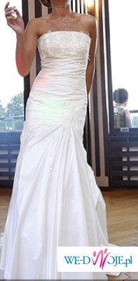 ab0c75bcca Śliczna sukienka Marietta ecru rozmiar 38! - Suknie ślubne ...