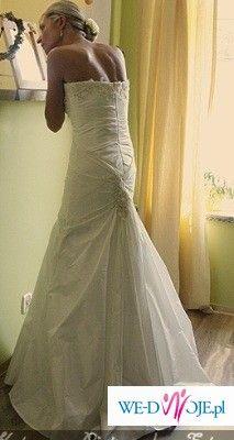 Śliczna sukienka Marietta ecru rozmiar 38!