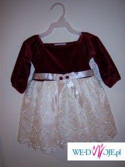 śliczna sukienka okolicznościowa