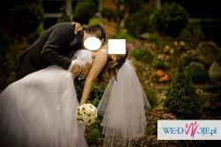 śliczna sukienka ślubna