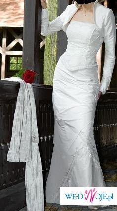 Śliczna sukienka ślubna Julia Rosa