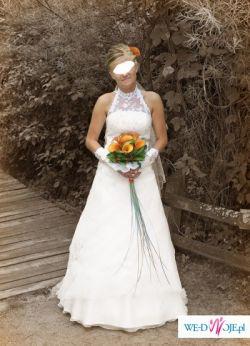 Śliczna sukneinka ślubna. Zapraszam do zakupu!