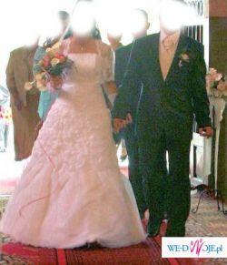 śliczna suknia:)