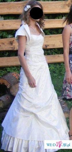 śliczna suknia Antra
