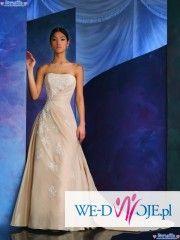 Śliczna suknia - cosmobella 7281 dla wysokiej