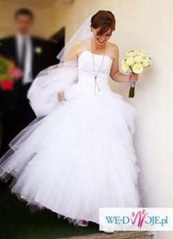 Śliczna suknia cymbeline dalyce tiulowa księżniczka
